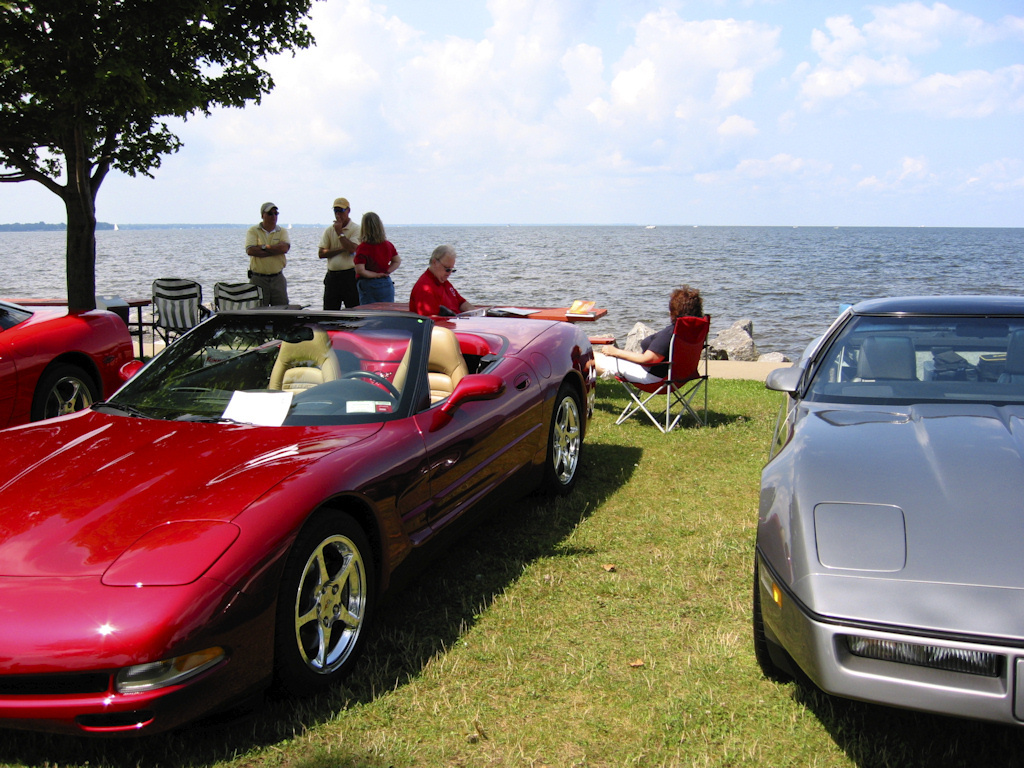 Vettes At The Beach 3