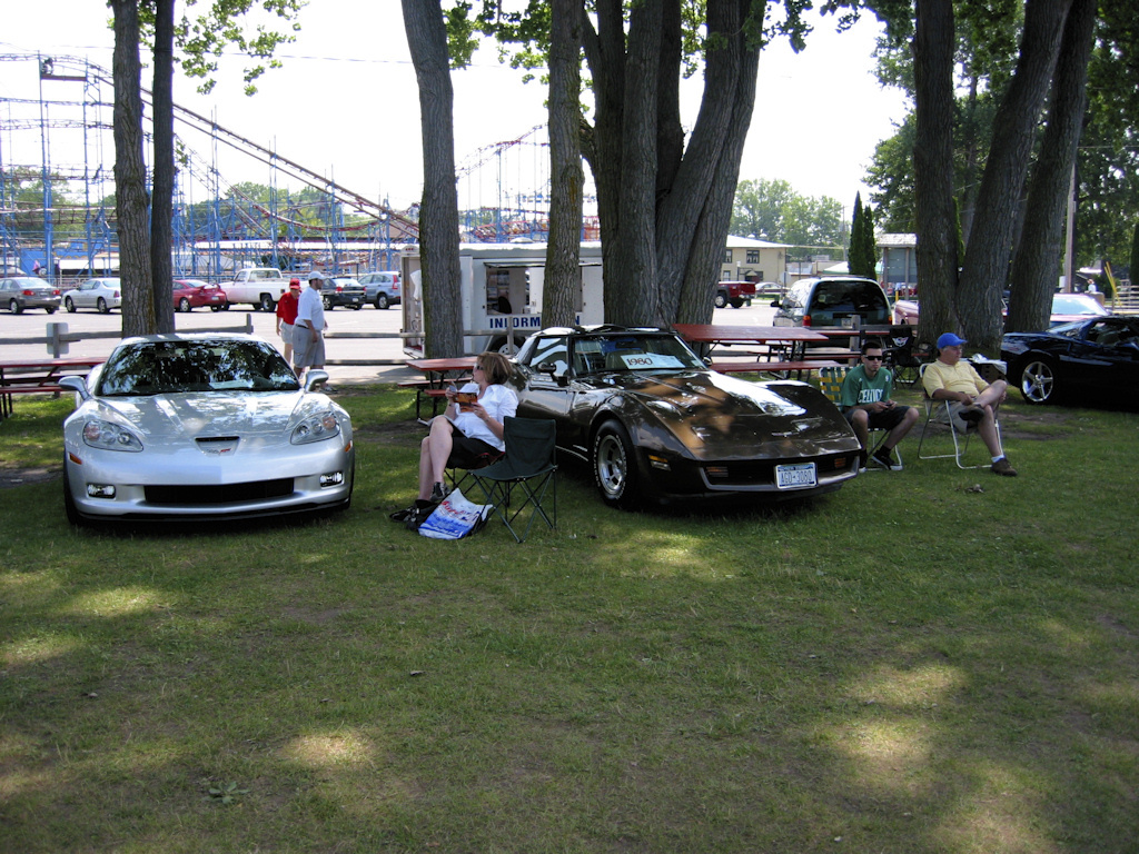 Vettes At The Beach 5