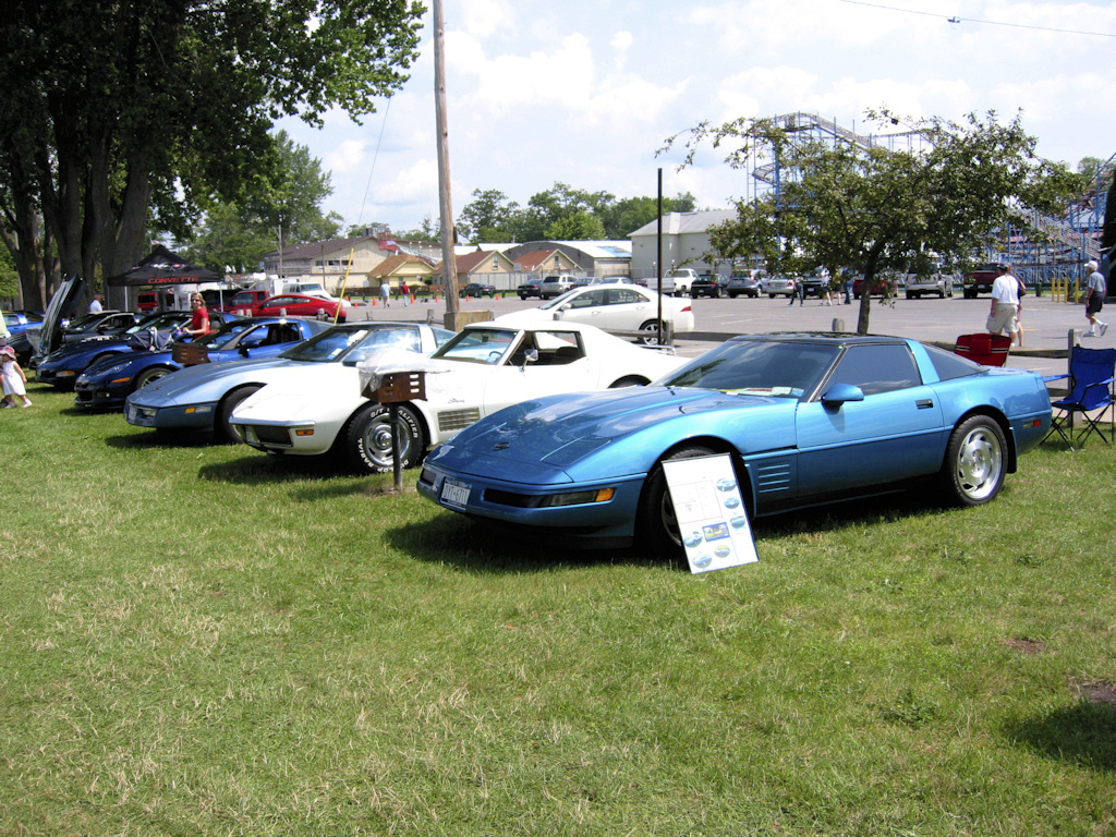 Vettes At The Beach 7