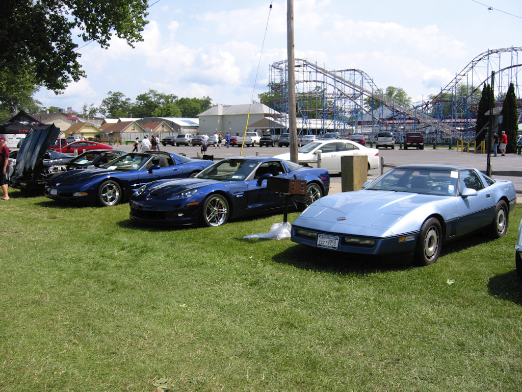Vettes At The Beach 8