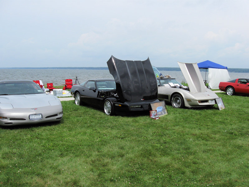 Vettes At The Beach 6